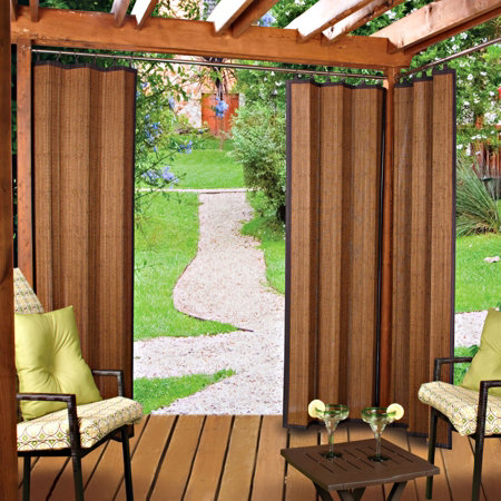 Outdoor Bamboo Curtain Panels Improvements