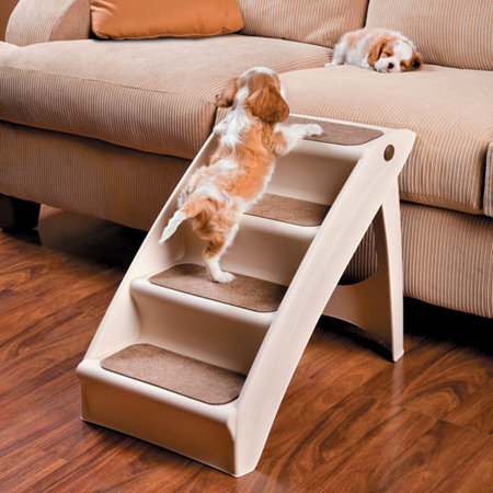 Pupstep Plus Dog Steps Pet Stairs Dog Ramp Puppy Stairs