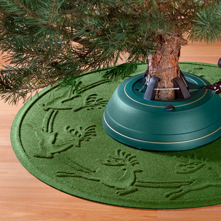 water guard christmas tree mat ornaments