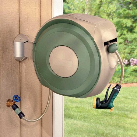 retractable hose reel - Retractable Garden Hose Reel