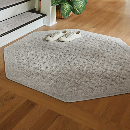 Harrison Weave Washable Area Rug 2 Ft Square