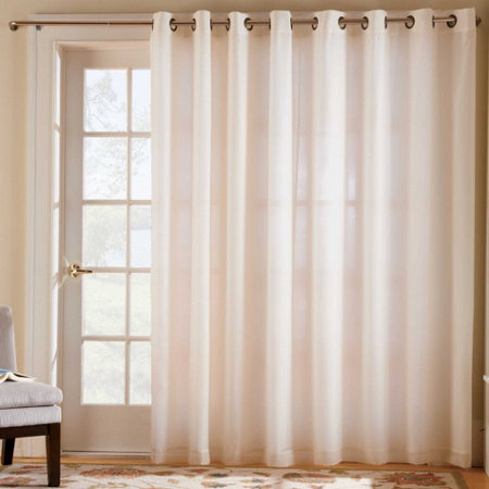Thermavoile Grommet Top Curtain Pair