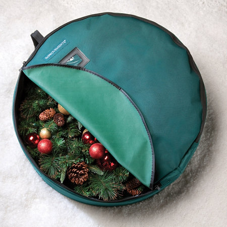 single wreath storage bag 24