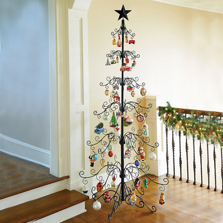 metal ornament tree - Iron Christmas Tree