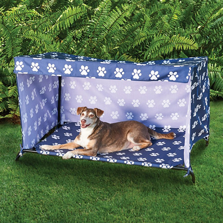 Indoor/Outdoor Dog Bed Canopy Cover and Shade Frame | Improvements