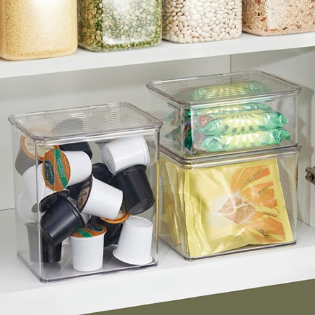 Binz Stackable Kitchen Storage Bins Improvements Catalog - Kitchen storage boxes