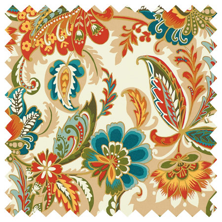 Outdoor Cushions Calypso Floral Print Improvements - Decorative-floral-print-chairs-from-floral-art