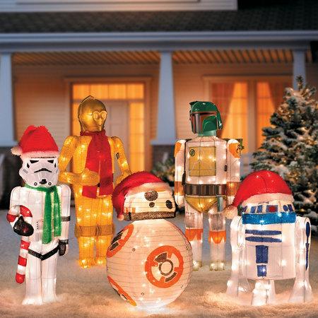 Star Wars Outdoor Christmas Decorations Improvements Catalog