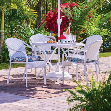 San Marco Stacking Chairs-Set of 2 - San Marco Outdoor Patio Furniture Improvements