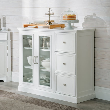 Hampshire Buffet Cabinet With Doors Improvements