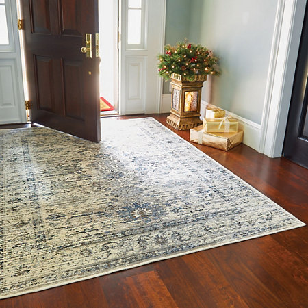Antique Silk Road Low Profile Rugs Stair Treads