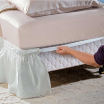 easy fit wrap around bed skirts - Door Frame Fan